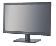 "Hikvision DS-D5019QE-B EU 19"" Monitor mit TFT-LED Backlight Technologie HD 1366x768@60Hz, Helligkeit 250 cd/m² Eingänge: HDMI 1.3, VGA VESA 100x100"