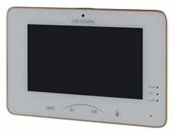 "7"" Touch-Screen Indoor Station, Mechanical Switch, 7-inch Colorful TFT LCD, display resolution: 1024 * 600, Camera resolution: 640 * 480, 10/100"