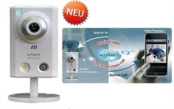 AVN80x Innenbereich Avtech iPhone Android Video Push Alarm Megapixel Kamera