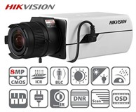 Hikvision DS-2CD4085F-AP 8 Megapixel Boxed Kamera Objektiv Optional Infrarot Cut Filter SD Kartenslot WDR ROI VCA Smart 0.009 Lux120dB WDR