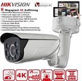 Hikvision DS-2CD4685F-IZHS 8 Megapixel Zoom steuerbar 2,8-12mm Infrarot bis 70 Meter WDR ROI VCA Smart 0.009 Lux120dB Wide Dynamic Range